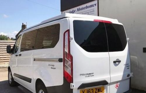 Van Windows VWT5 VWT6 Sliding Privacy Glass Barn Door Fitted